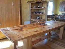 diy rustic dining room tables. Simple Rustic Wood Dining Room Table Tables Get Reclaimed Timber Trestle Diy S