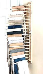 tie racks for closet wall mount tie rack tie organizers for closet wooden wall mount pants tie racks
