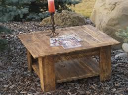Barnwood Coffee Table | Wood Plank Coffee Table | Salvaged Wood Coffee Table