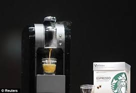Starbucks Coffee Vending Machines New Coffee To Stay Please Starbucks Creates Machine That Lets You Make