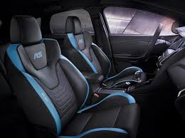 the recaro sport seats as standard equipment in the ford focus rs picture