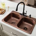 Image result for drop in kitchen sinks double bowl