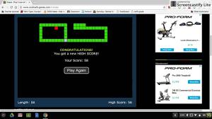 snake on cool math games