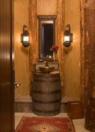 Unique diy bathroom ideas using wood Vessel Sink Cool Rustic Bathroom Ideas For Your Home Cultural Codex Cool Rustic Bathroom Ideas For Your Home Bath Tubs Diy Decor In