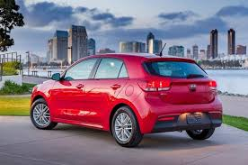 2018 kia rio ex. unique kia 2018 kia rio 5door rear quarter left photo on kia rio ex r
