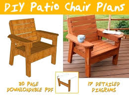 diy patio furniture chair plans and tutorial step by s photos outdoor cleaner diy patio furniture