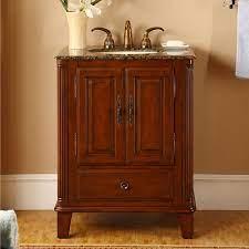 28 Inch Small Single Sink Bathroom Vanity With Granite