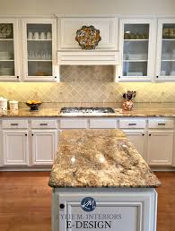 Maple Wood Kitchen Cabinets Painted Benjamin Moore White Down Kylie