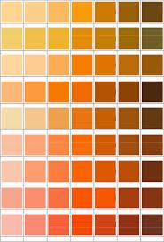 Pms Orange Color Chart Pms Color Chart Pmschart