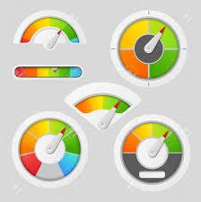 Free Gauge Chart Gauge Chart Meter Elements Dashboard Indicate Panel Indicator