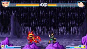 Game Bleach vs Naruto 2.0 - Naruto đánh nhau với Rock Lee - YouTube