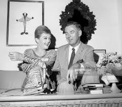 cbs radio pictures getty images radio personality lee interviews actress angela lansbury image dated 27 1966