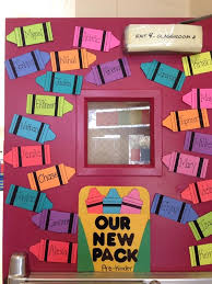 Classroom Door Decoration Ideas Beginning School New Back to School
