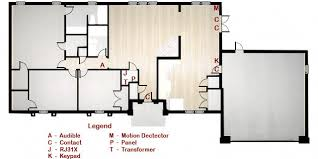 home security system component layout livewatch security floorplan basic alarm