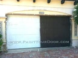 paint a garage door paint garage door painted doors wood grain painting the images of faux paint a garage door