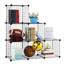 best place to buy shelves. Fine Best LANGRIA 6cube DIY Wire Grid Bookcase Multiuse Modular Storage Shelving  Rack For Best Place To Buy Shelves T