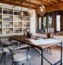 home office work table. Home Office Work Table. Industrial Contemporary With Table Area Metal Chairs S E