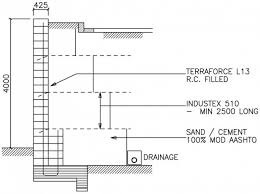 Small Picture concrete wall design example this is an engineered retaining wall