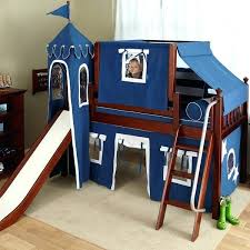 bunk bed with slide and tent. Double Bunk Bed Slide Uk Kids Loft With And Tent Home Design Ideas Boys Beds Best Of Top Slides