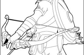 The Legend Of Zelda Coloring Pages Free Online Breath Wild Link