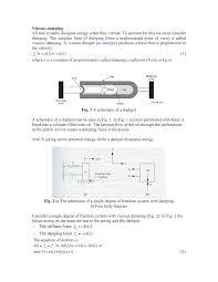 Viscous Damping Ln 3 Viscous Damping Lecture Notes 3 Mime 3370 Studocu