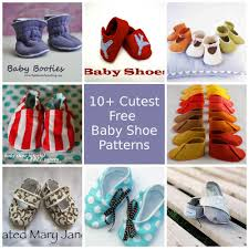 Baby Shoes Pattern Inspiration Cutest Free Baby Shoe Patterns So Sew Easy