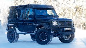 2017 mercedes g550 4x4 squared review by the straight pipes. Mercedes G Class 4x4 Squared Spied Looking Like The Ultimate Off Roader