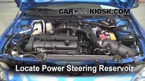 fix power steering leaks ford escort (1997 2003) 2002 ford escort 98 Ford ZX2 Engine 2002 ford escort zx2 2 0l 4 cyl power steering fluid add fluid