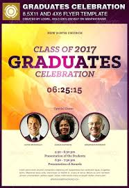 Graduates Celebration Church Flyer Template Flyers Awards Banquet ...