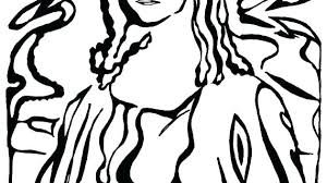 Mona Lisa Coloring Page Coloring Games Movie