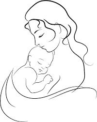 Disegno Di Madre Matita Bambino Schizzo La Festa Della Mamma 859