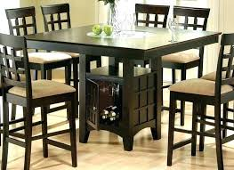 tall kitchen table 2 chairs ikea sets for 6 round glass dining modern computer desk gorgeous tables f
