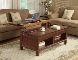 aida storage coffee table with lift up top