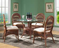 rattan dining room table set. rattan dining room table set