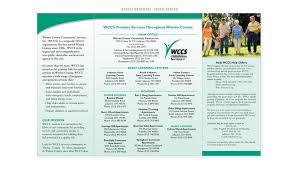 Warren County Community Services: Brochures | Kevin Pease