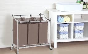 Beautiful Divided Laundry Hamper