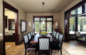 Dark Trim Light Walls Magnificent Pemberley Estate Traditional Dining Room Grand Rapids By