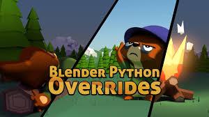 blender python overrides cover