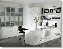 White airy home office Office Space Designer Designer Home Furniture The Airy Three Bedroom Apartment Overlooking