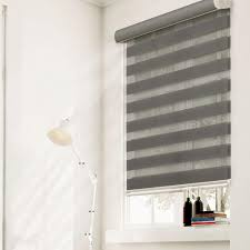 Light Filtering Vs Room Darkening Mini Blinds Chicology Zebra Roller Shade Granite Light Filtering