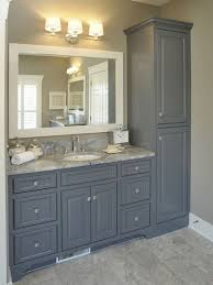 white bathroom cabinets gray walls. fabulous florida tile formations for walls and floors : impressive using gray floor wall combined with vanity white bathroom cabinets