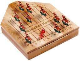 Wooden Horse Racing Game