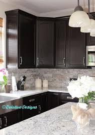 Inspiring Kitchen Backsplash Ideas For Dark Cabinets 17 Best Ideas