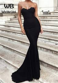 Mermaid Prom Dresses Long Sweetheart Corset Elastic Satin Off Shoulder Sleeveless 2018 Sweet 16 Party Dresses Formal Evening Gowns