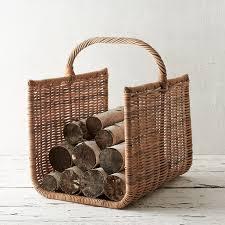 Wicker Firewood Basket