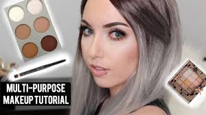 easy multi purpose makeup tutorial use your makeup in diffe ways you
