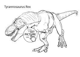 Kleurplaat Dinosaurus T Rex Kleurplaat Vor Kinderen 2019 With T
