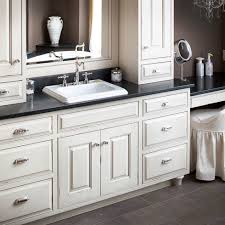 Bathroom White Cabinets Pictures Of Kitchens With White Cabinets And Black Appliances