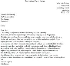 Example Covering Letters Speculative Cover Letter Examples Icover Org Uk