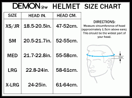 Snowboard Helmets Size Chart Lucky Bums Doodlebug Toddler
